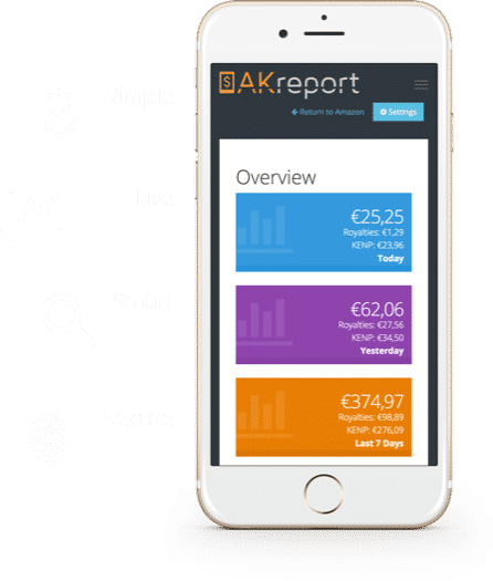 AKreport • The Best KDP Reports Tool • AKreport