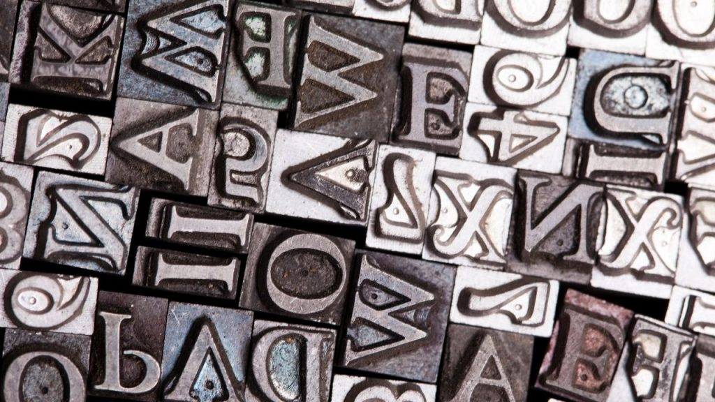 fonts typography guide