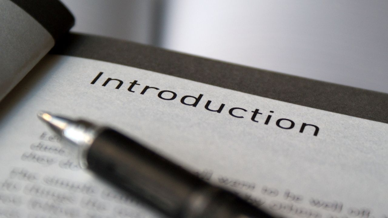 create perfect introduction for your book